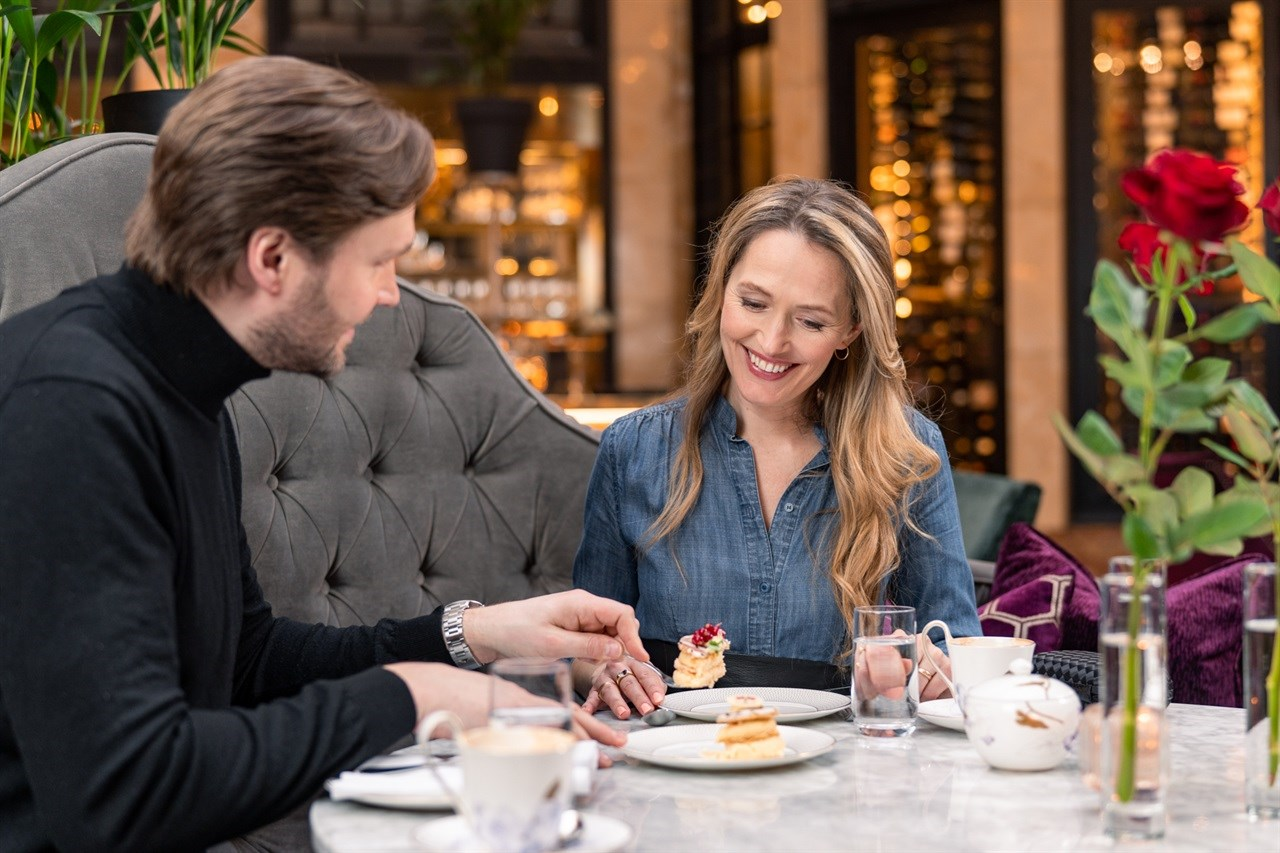 Afternoon Tea in Palmen Restaurant