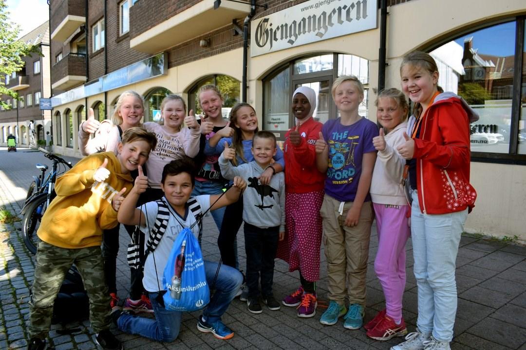 Bilde fra Gjengangeren. Foto: Bjørn Nilsen