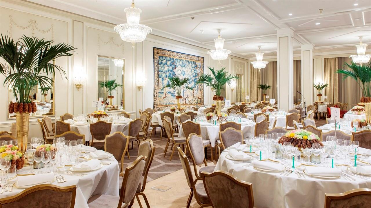 Speilen er salen der en rekke fantastiske eventer finner sted, og Nobels Fredspris-middagen blir avholdt her hvert år.