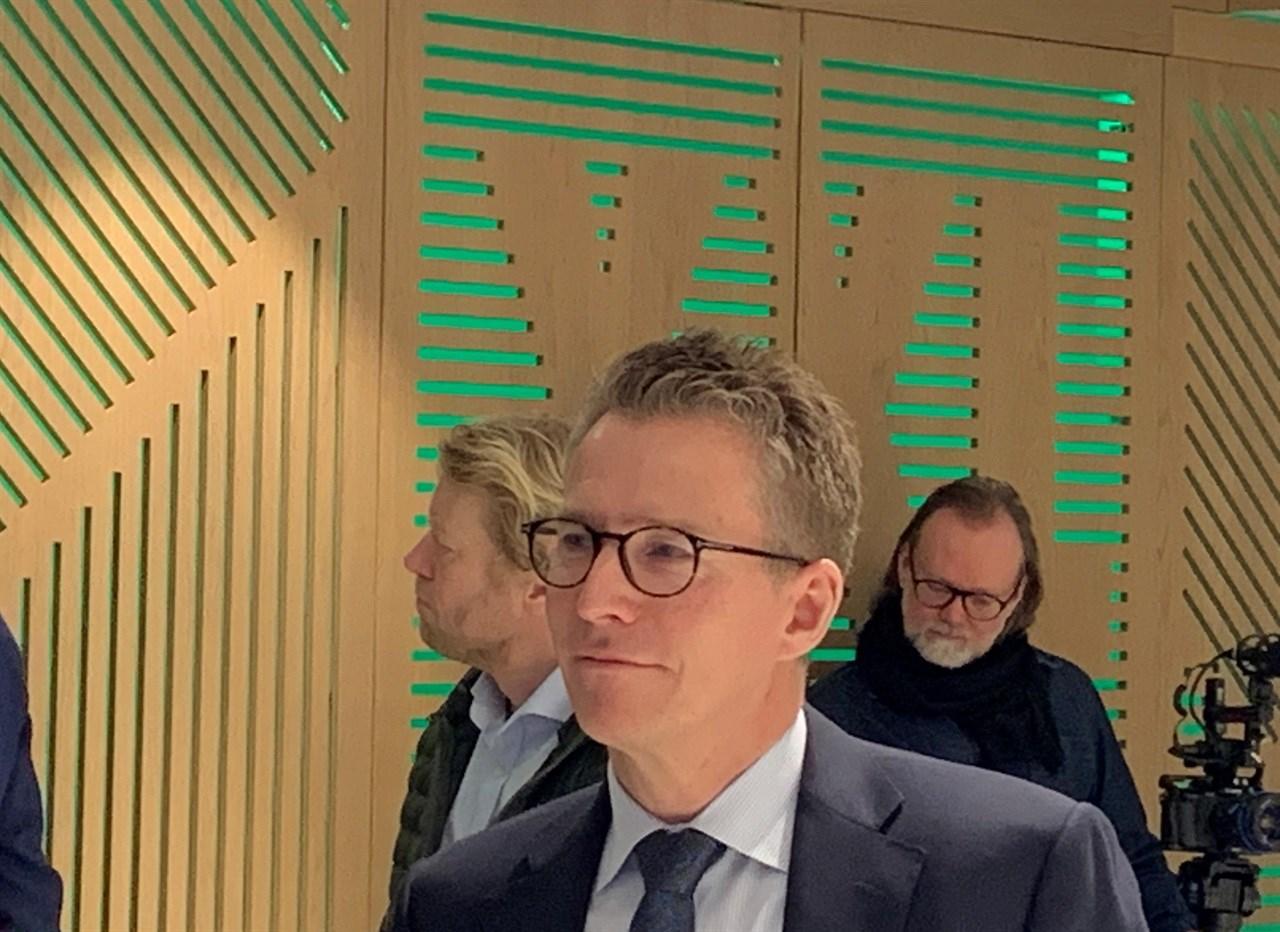 XXLs nye styreleder Hugo Maurstad la frem sin visjon for konsernet på XXLs resultatfremleggelse 7.februar.