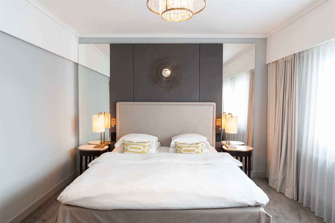 Bed in Grand Petite room
