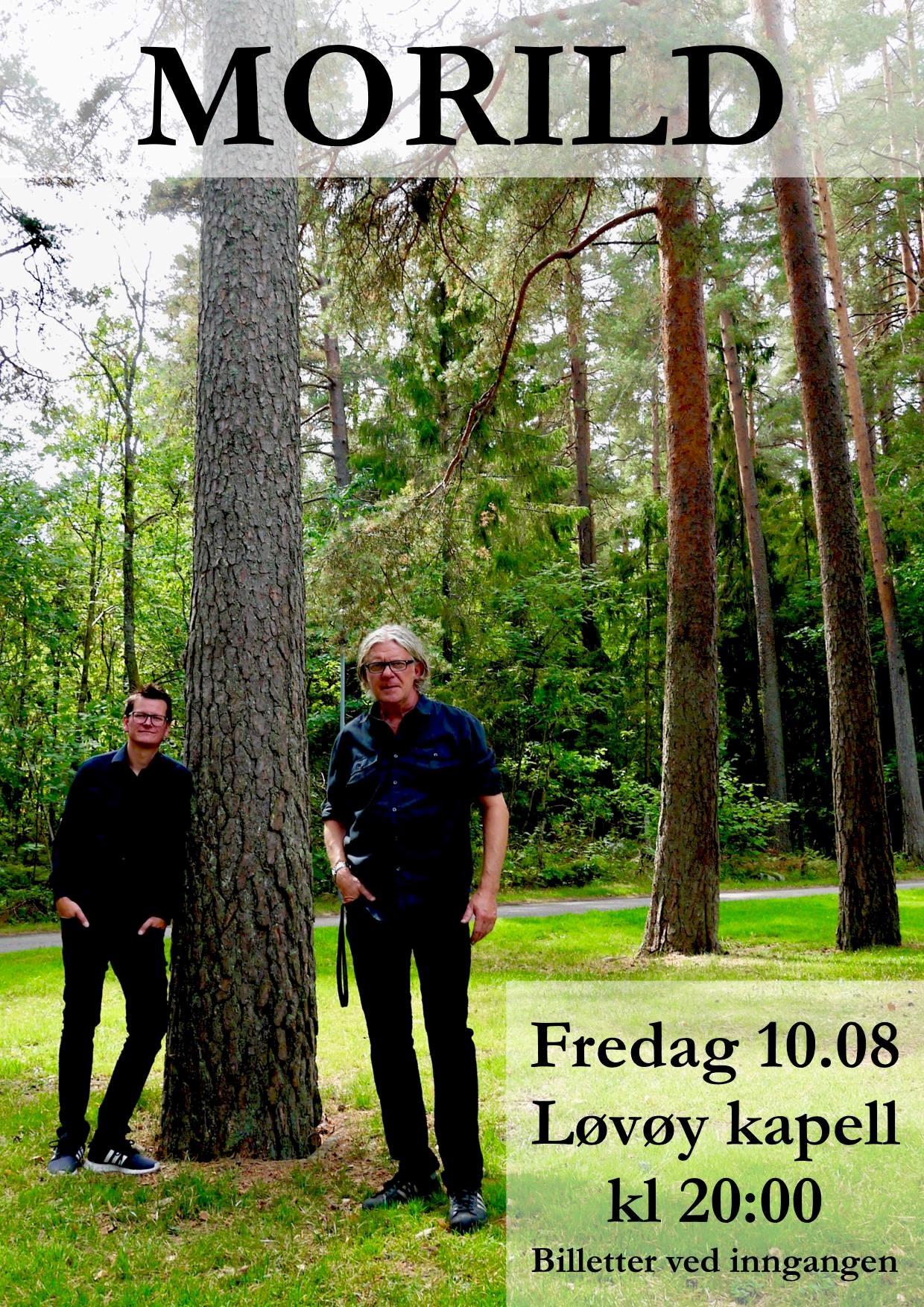 Konsert med Morild i Løvøy kapell
