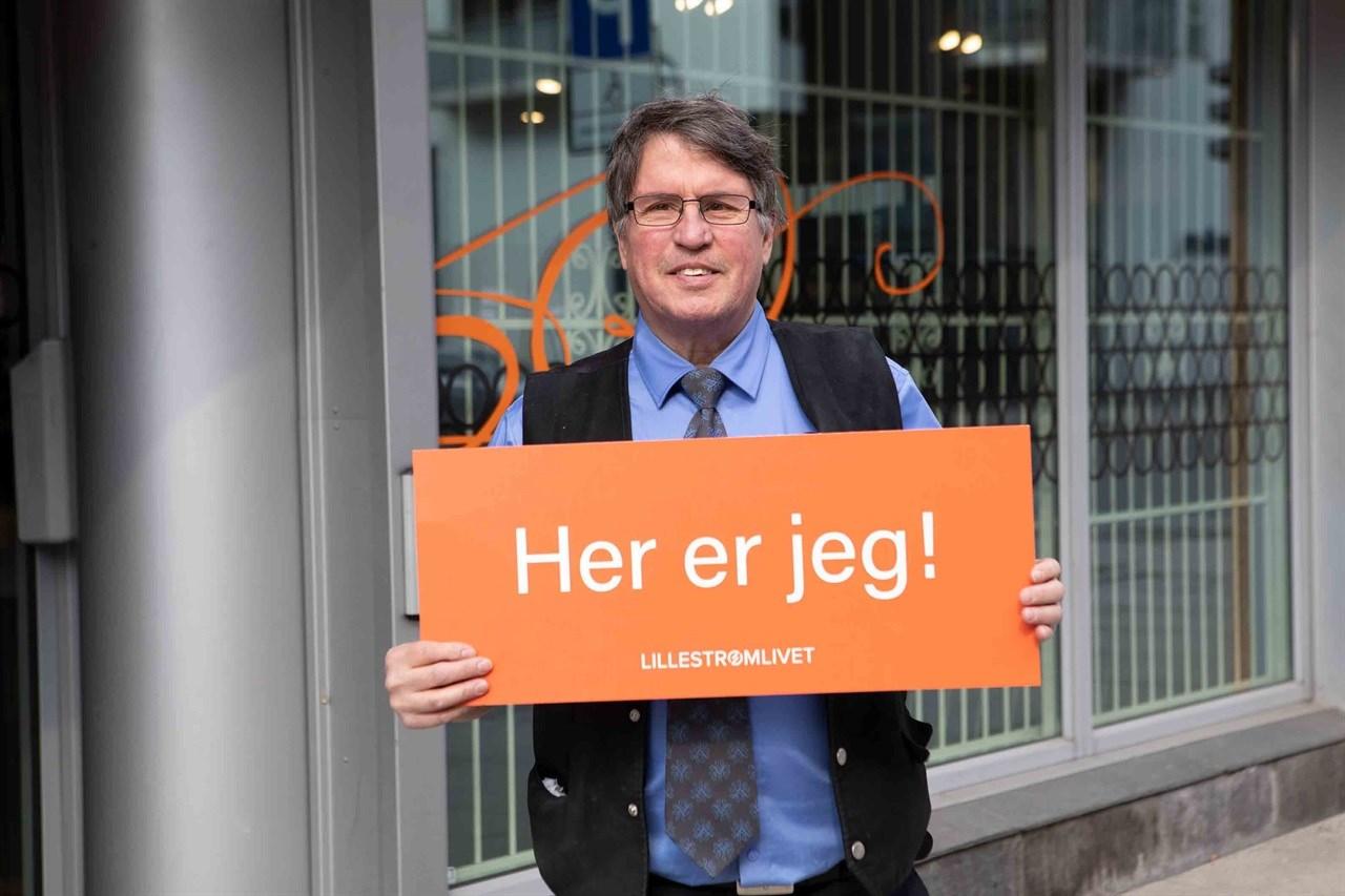 DU TREFFER HAM PÅ POLET: Bli bedre kjent med DIDIER LE BAZER, som til daglig jobber på Vinmonopolet i Lillestrøm.