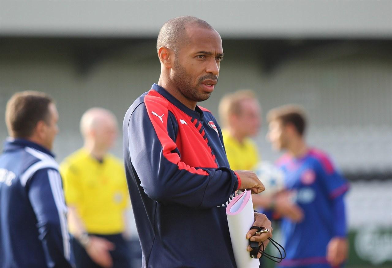 Thierry Henry hield het slechts 103 dagen vol als trainer bij AS Monaco. Afbeelding: Creative Commons (Flickr), by: joshjdss