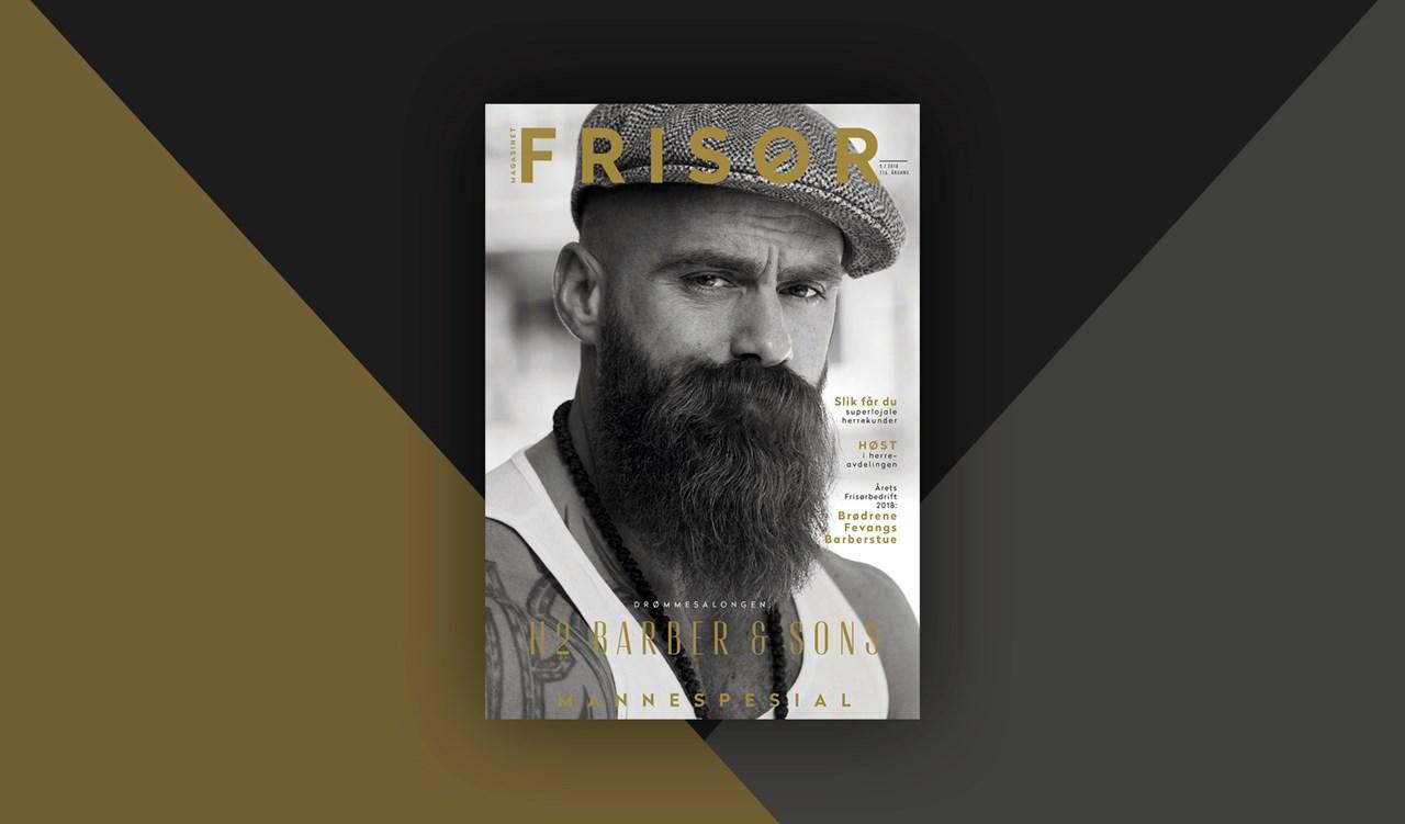Magasinet FRISØR utgave 5-2018 er