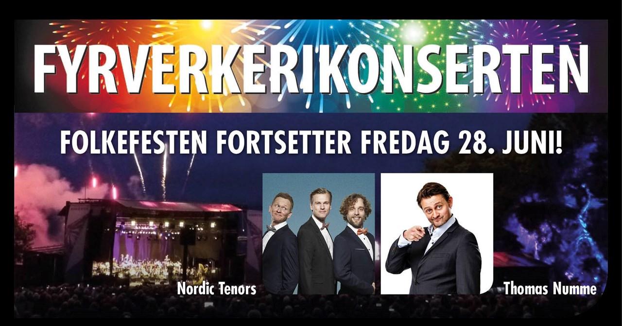 Fyrverkerikonserten 2019 // Karljohansvern, Horten
