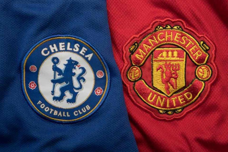 Chelsea - Manchester United på Saxon King