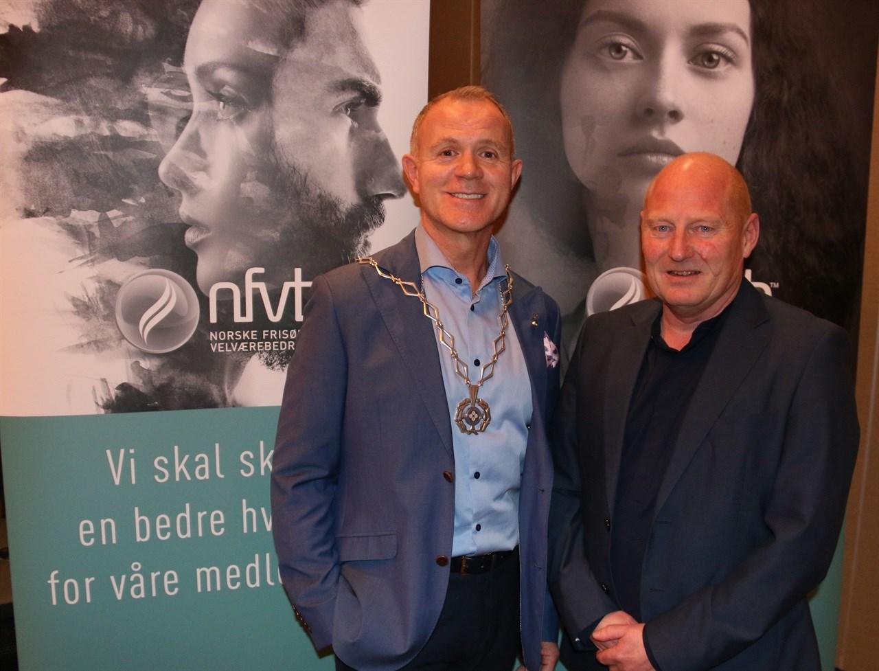 Espen Sævold og Jørn Inge Næss er NFVBs nye president og visepresident