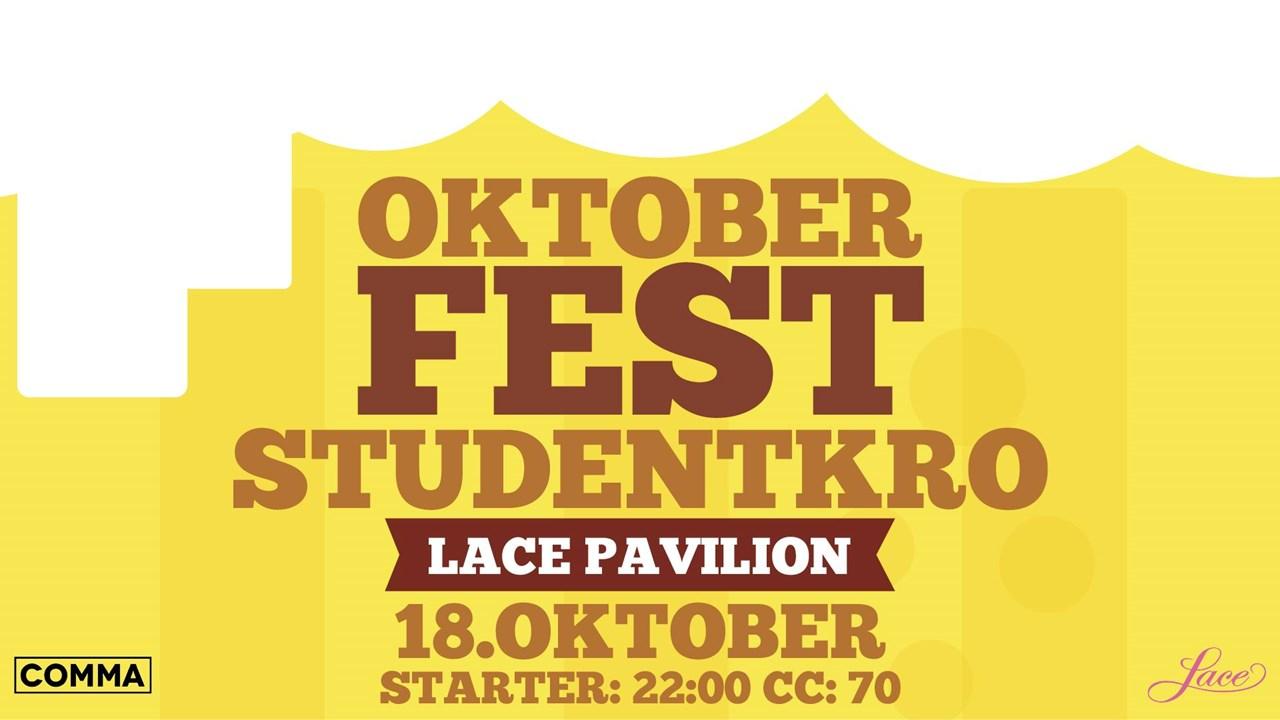 Studenkro Lace og Pavilion i oktober fest tema