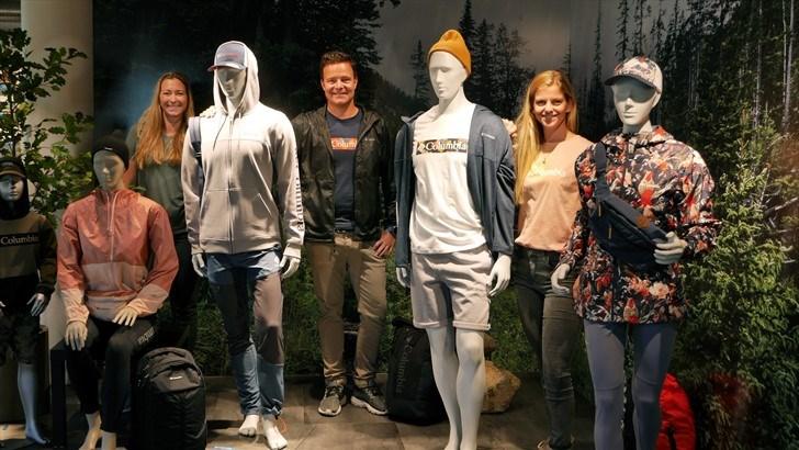 Blant årets kolleksjon fra venstre, Kristin Paus White, Kyrre Ufert Lømo og Kristine Sønning Forsbak.