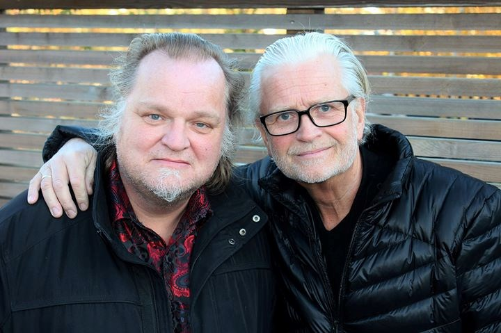 Knut Reiersrud og Iver Kleive