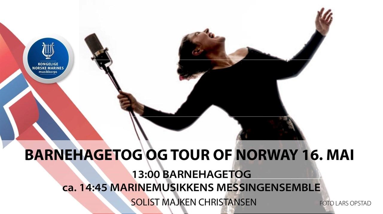 Barnehagetog og Tour of Norway // Horten