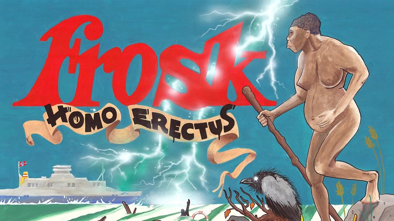 Helaften med Frosk
