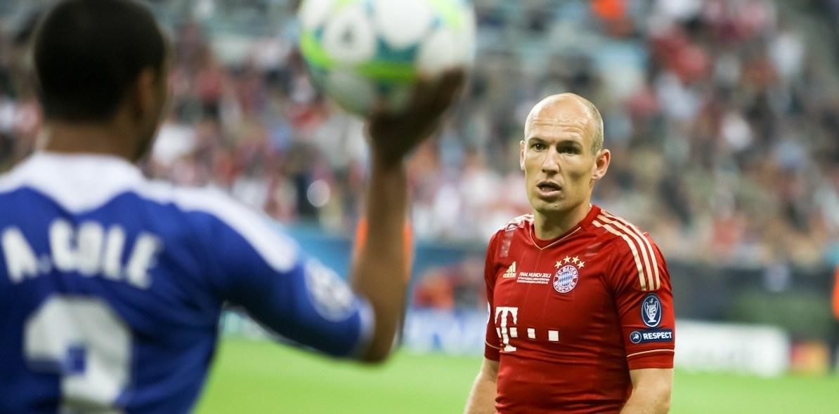 Ook Bayern München scout jongens van acht jaar. Een ongewenste ontwikkeling, stelt Robben.