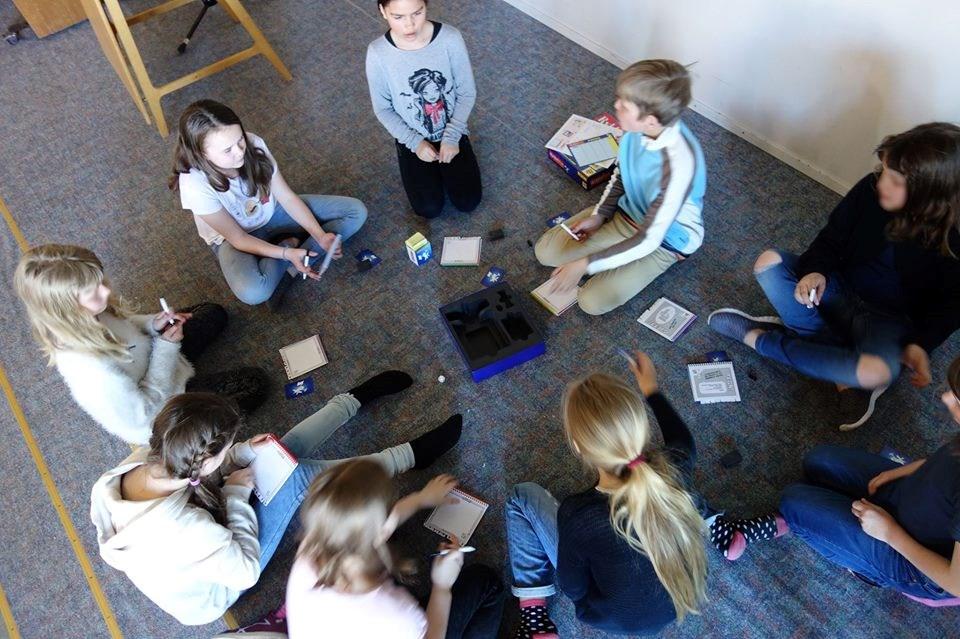Tweens etter skoletid for 4.-7. klassinger