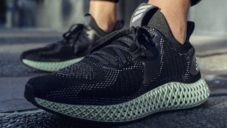 NYESTE. Alphaedge 4D reflective, en av Adidas nyheter med 3D printet såle. Lanseres 11. november 2019.