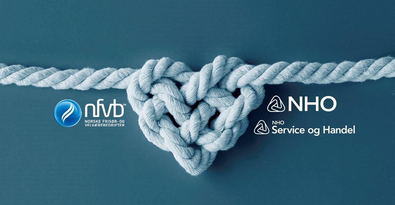 NFVB har et godt og konstruktivt fellesskap med NHO og landsforeningen NHO Service og Handel.