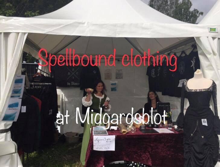 Spellbound clothing at Midgardsblot 2018