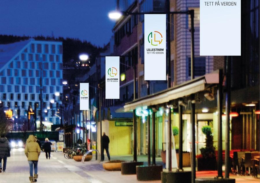 Din virksomhet kan bli med på å promotere byen vår. Kunnskapsbyen Lillestrøm og Lillestrøm Eiendomsforum har laget en visjon for byen, med en grafisk profil og en verktøykasse som er tilgjengelig for alle. Illustrasjonsfoto.