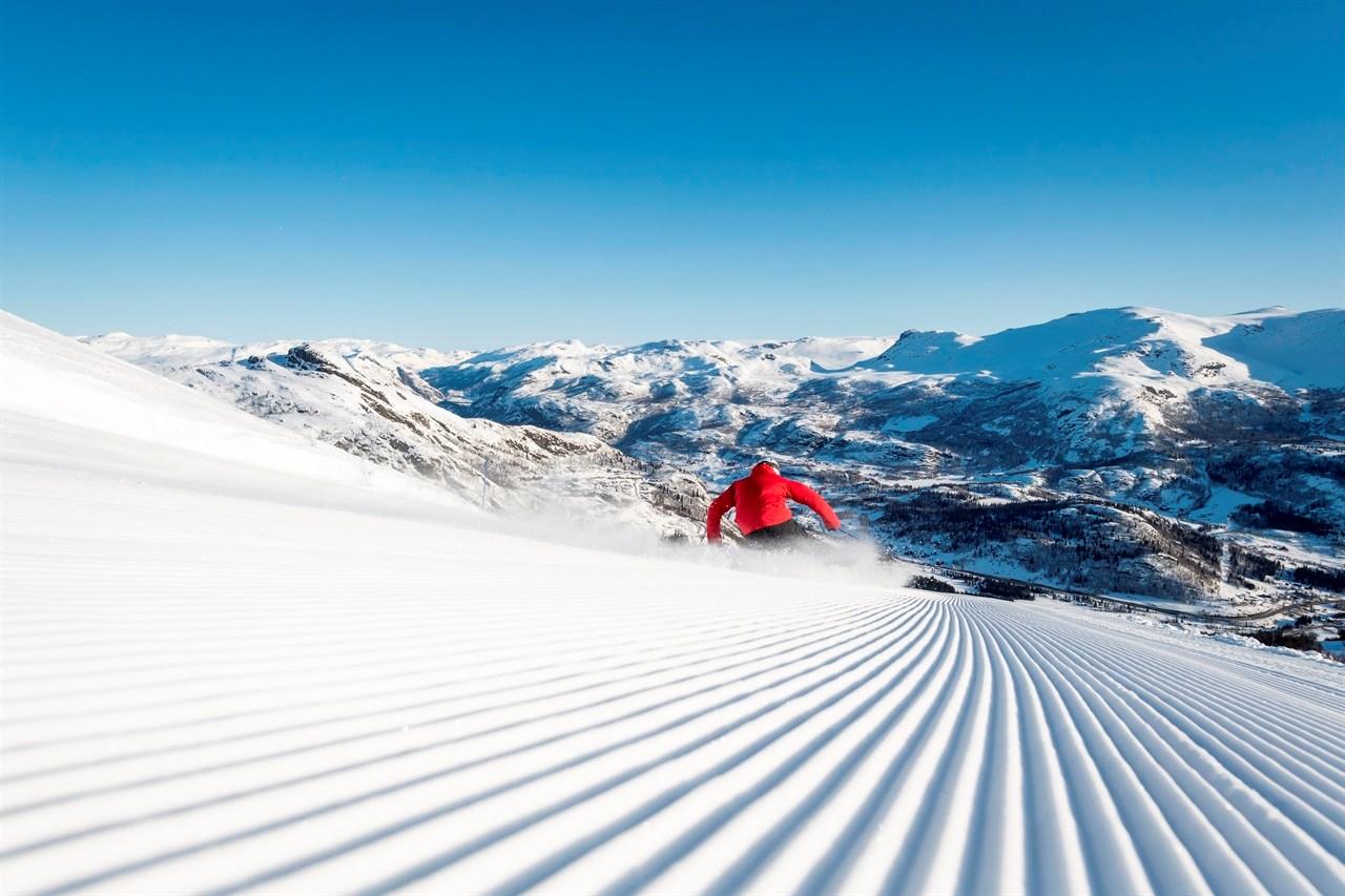 Gode snøforhold er gull. Foto: Ola Matsson.
