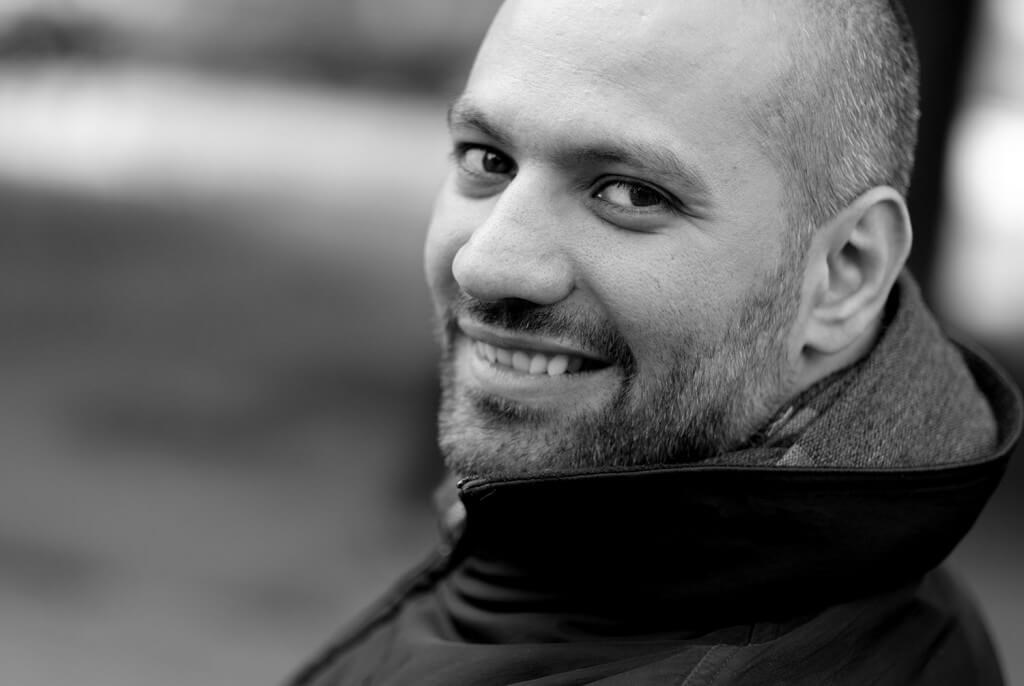 Marco Elsafadi vil holde inspirasjonsforedrag på NFVBs digitale landskonferanse. Foto: Pål Laukli
