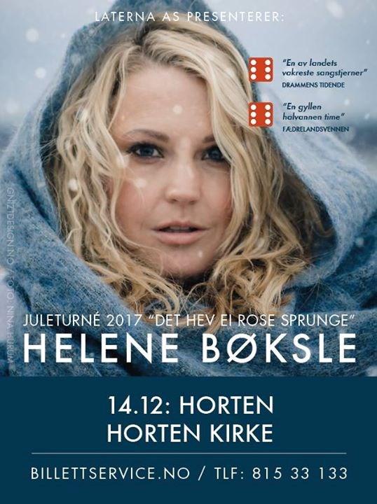 Julekonsert med Helene Bøksle, Horten kirke