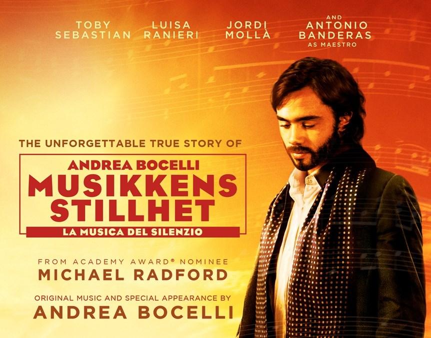 Førpremiere: Andrea Bocelli - Musikkens stillhet