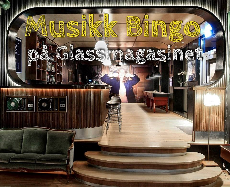 Musikkbingo på Glassmagasinet 30.Januar