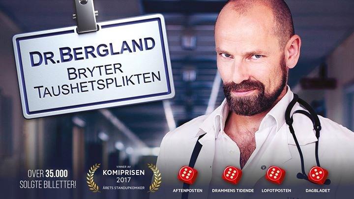 Dr. Bergland bryter taushetsplikten