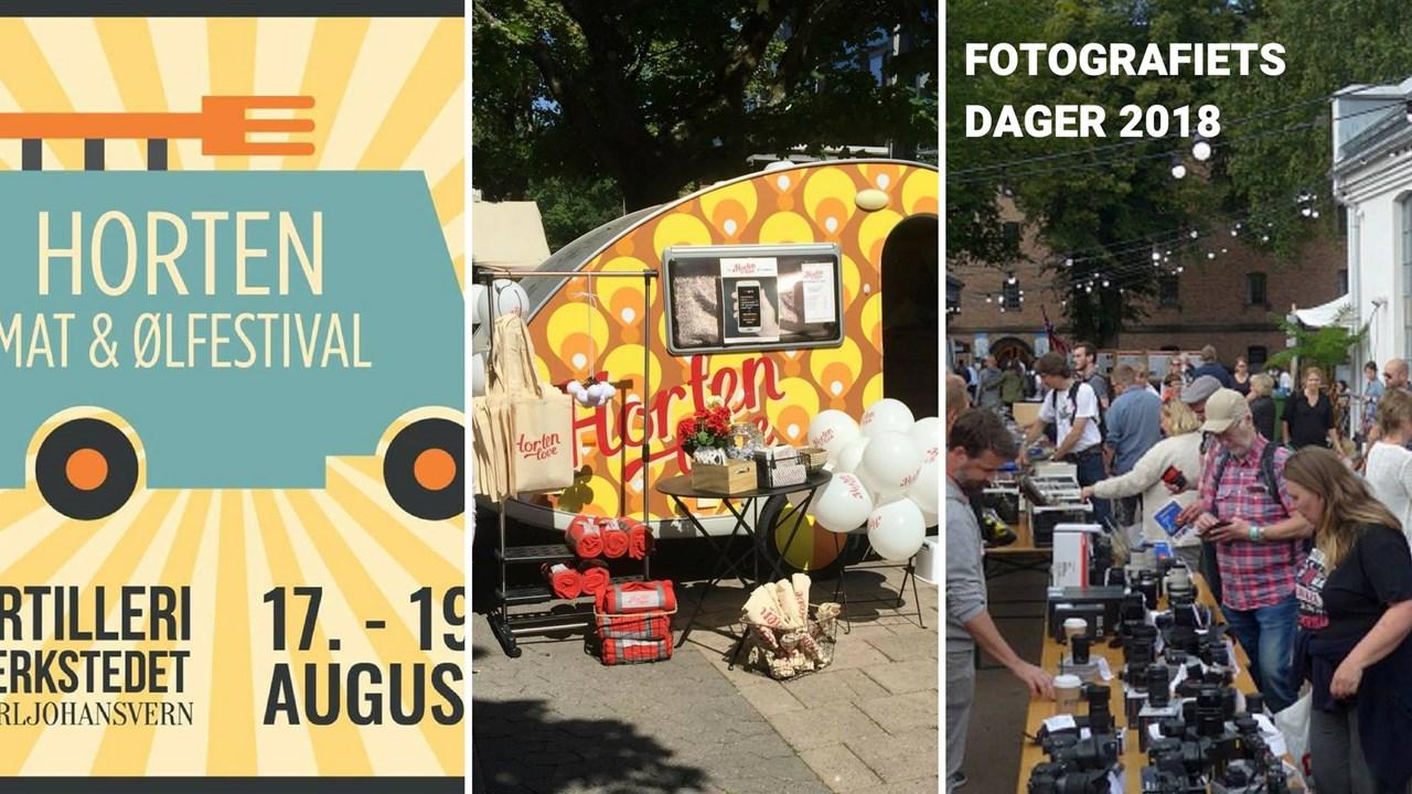 HortenLove på Matfestival og Fotografiets dager
