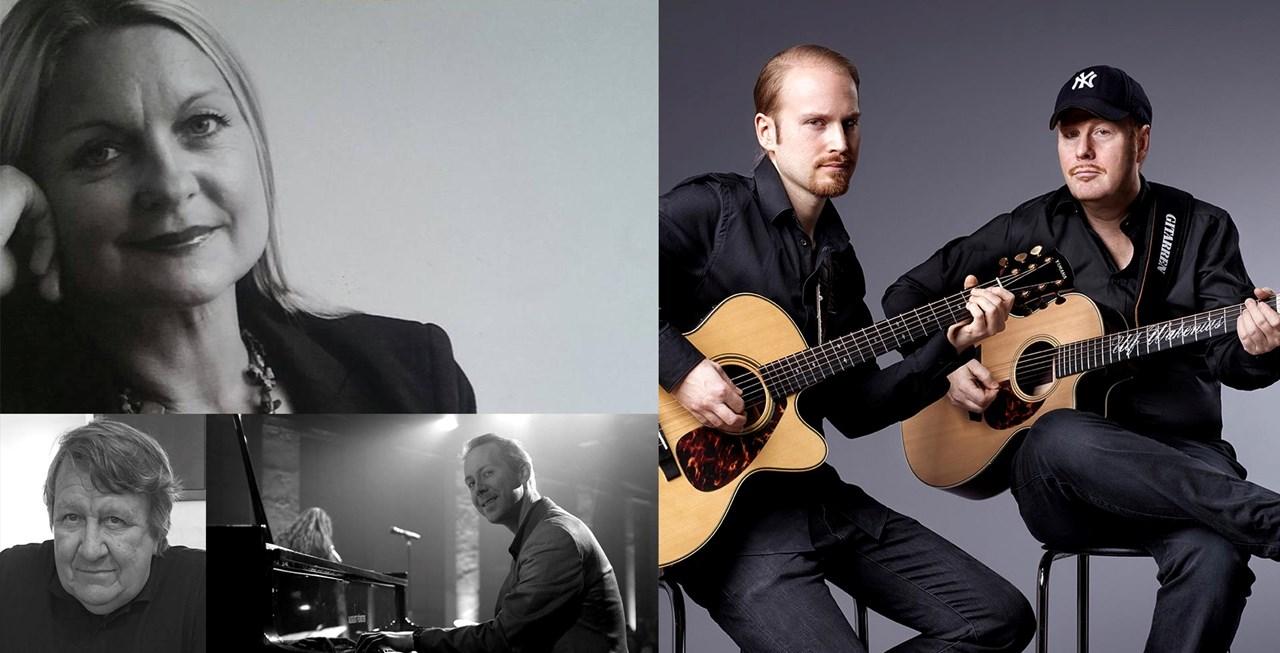 Ulf og Eric Wakenius - Brunvoll/Arnesen og Lunde. Dobbelkonsert