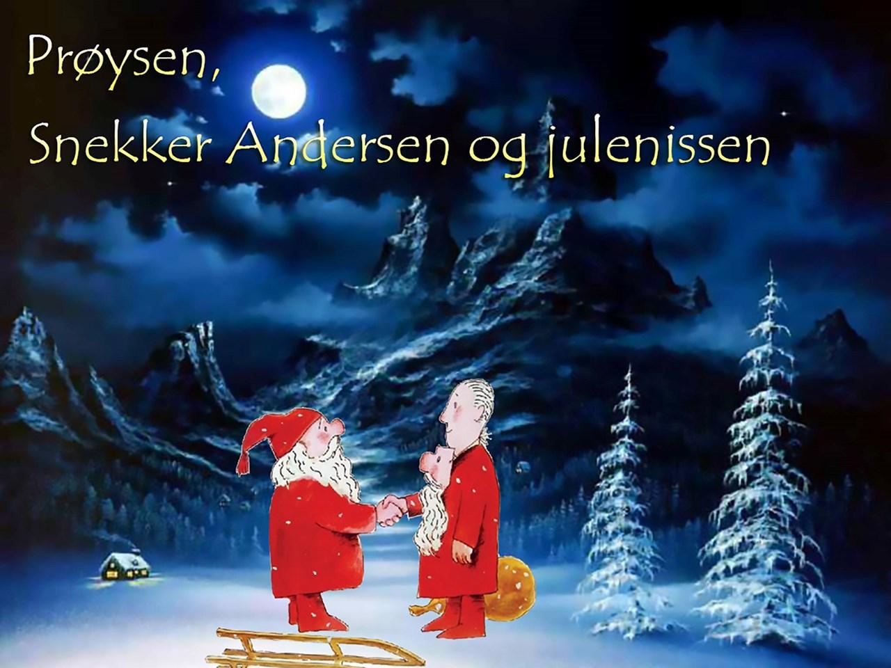 Prøysen, snekker Andersen og julenissen // Bakkenteigen Kulturhus