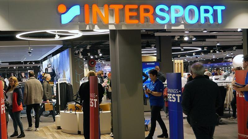 PILOT. Intersports nye butikk i Sandvika Storsenter var en av pilotbutikkene i den nye digitale satsingen for kjeden.