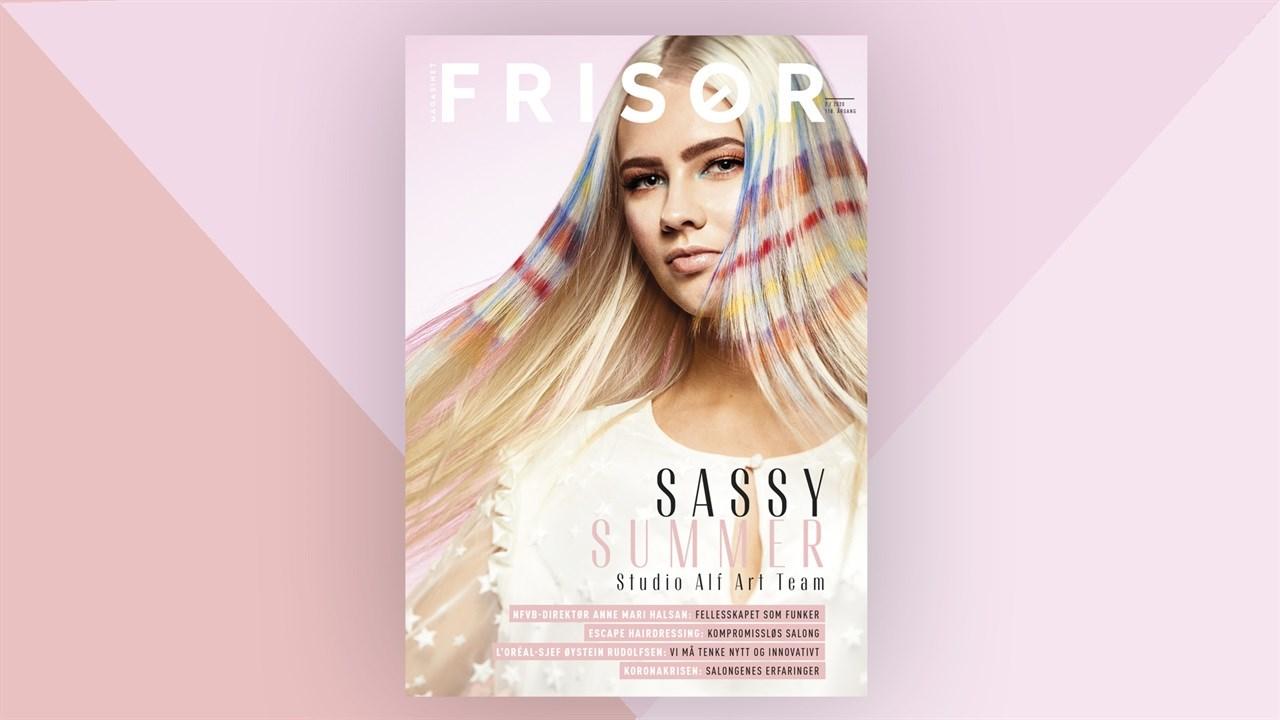 Denne utgaven av magasinet FRISØR preges naturligvis også av koronakrisen.