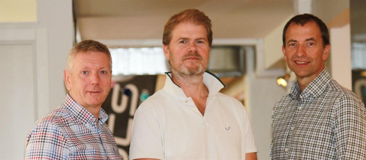 Lars, Ole og Epen. Grunnleggerene av ROCS