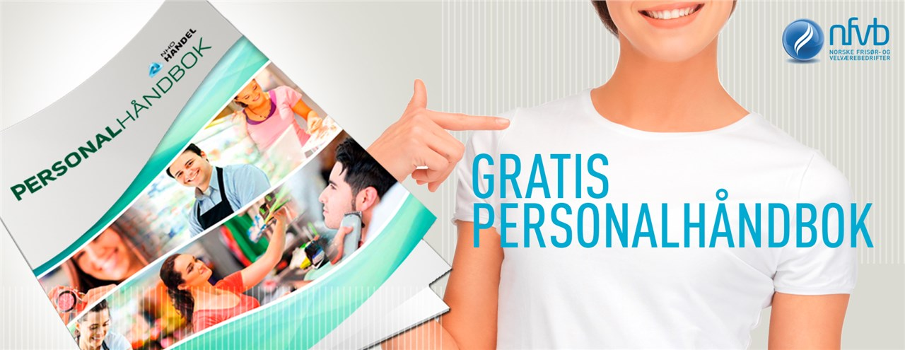 Som medlem i NFVB har du en rekke fordeler som bla. gratis personalhåndbok.