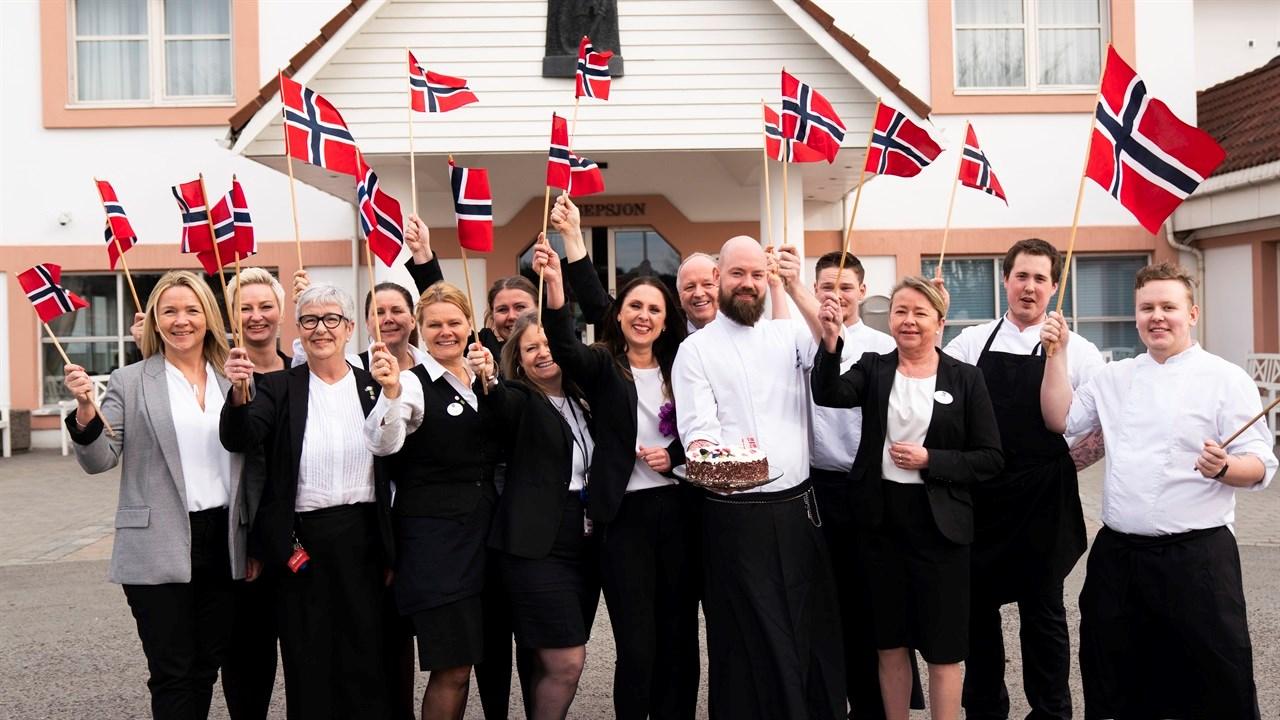 ANNONSØRINNHOLD: Hjertelig velkommen til en hyggelig feiring av nasjonaldagen på Quality Hotel Olavsgaard!