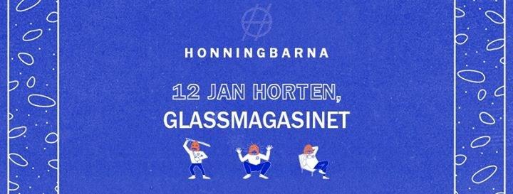 Honningbarna på Glassmagasinet 12. Januar