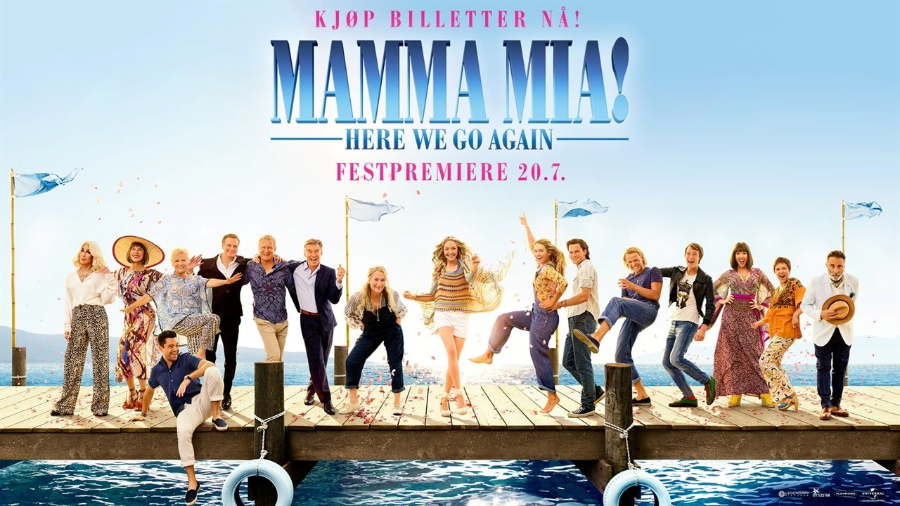 Festpremiere: Mamma Mia! Here We Go Again