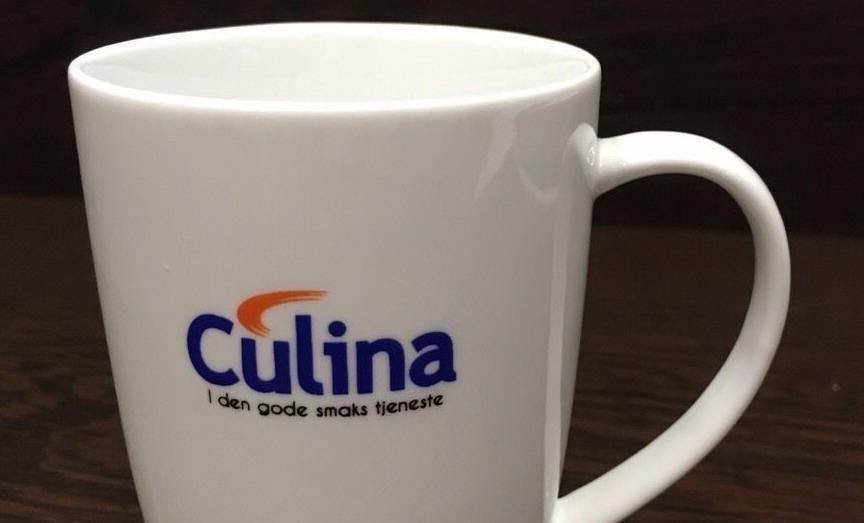 Culina har nær 200 forskjellige kopper og krus på lager - noe for envher smak!