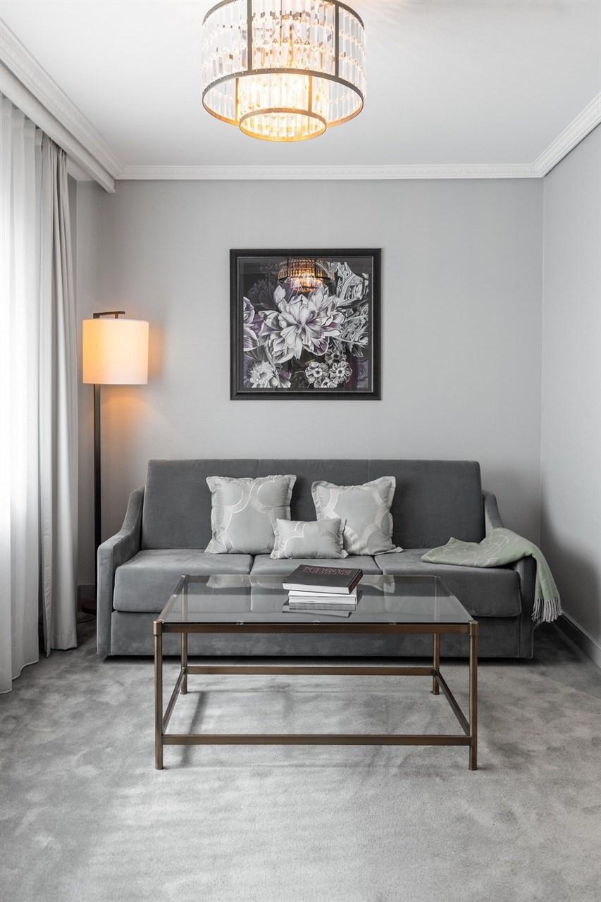 Sofa bed in Superior Plus room