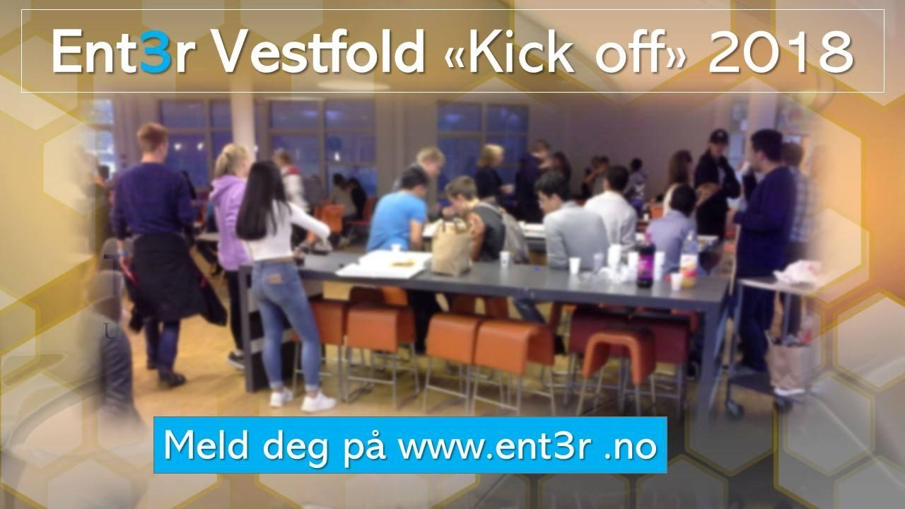 Kick-off Ent3r Vestfold - gratis Relafagstrening på campus