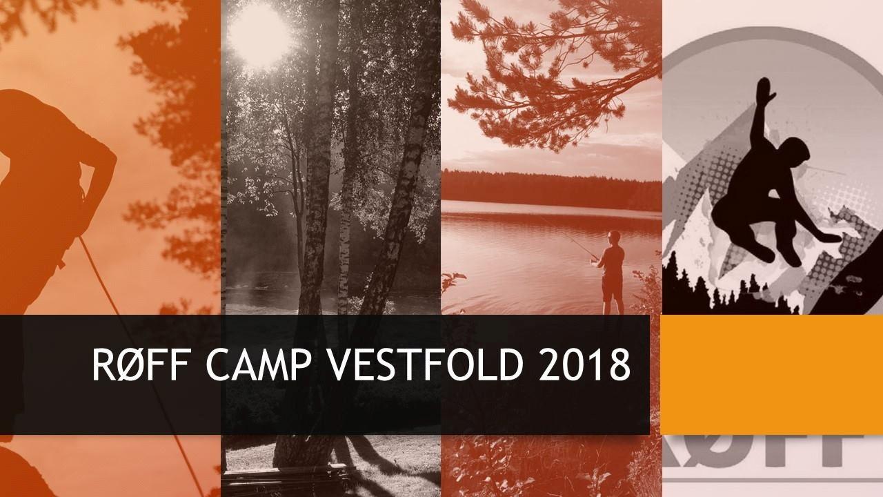 Helgecamp RØFF på Borrestranda