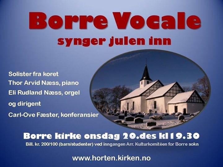 Borre Vocale synger julen inn