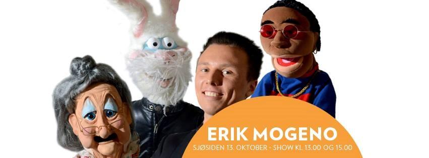 Erik Mogeno kommer til Sjøsiden