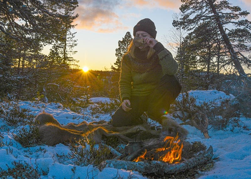 Ikke alle vet at det er smart å ha ull på seg når det er kaldt ute. Men Refseth tror de aller fleste av oss har den nødvendige kunnskapen i bunnen, for å få et positivt utbyttet av en tur i det fri.