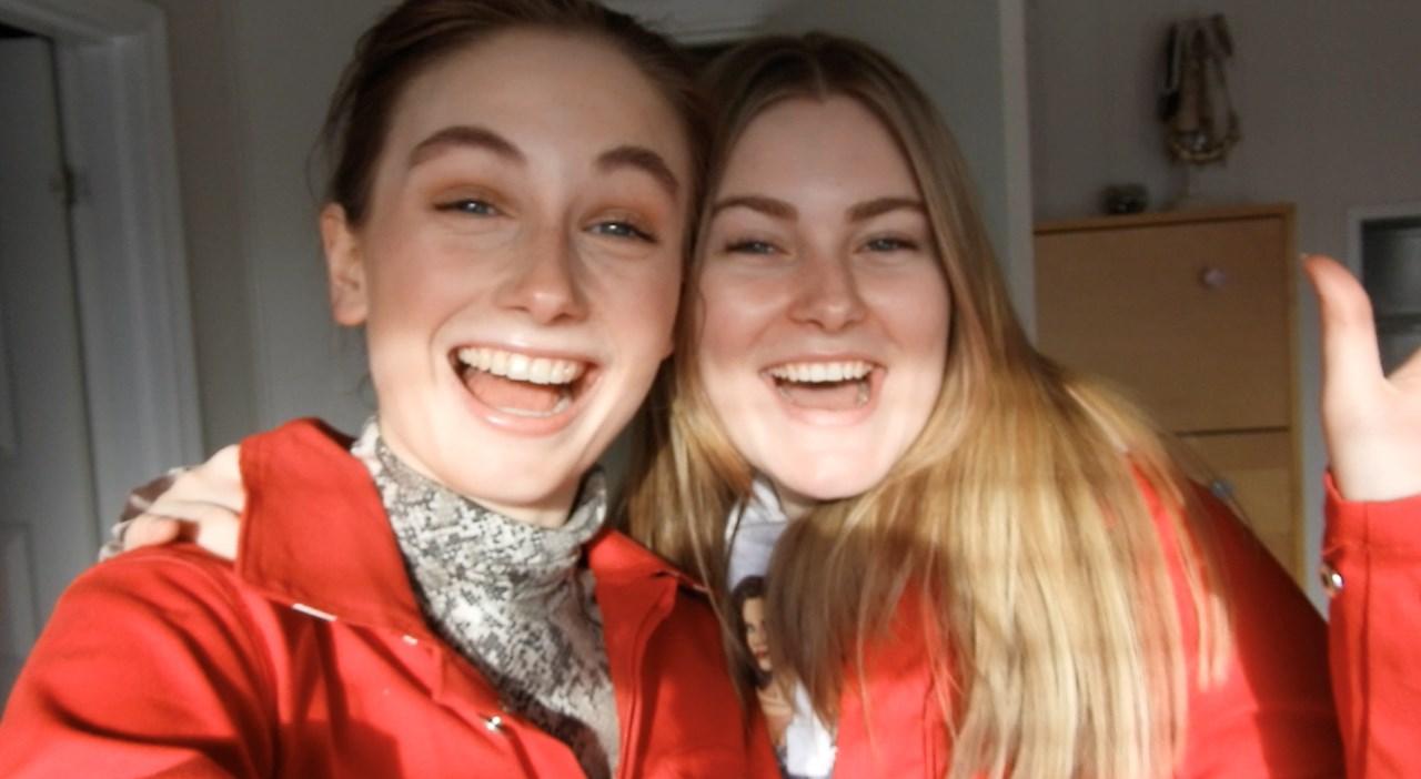 Maria Linnerud (t.v) og Thea Kristine Rønsen