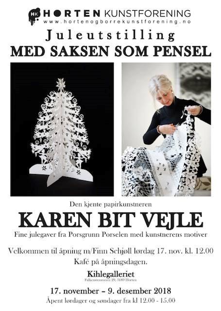 Juleutstilling 2018. Karen Bit Vejle i Kihlegalleriet.