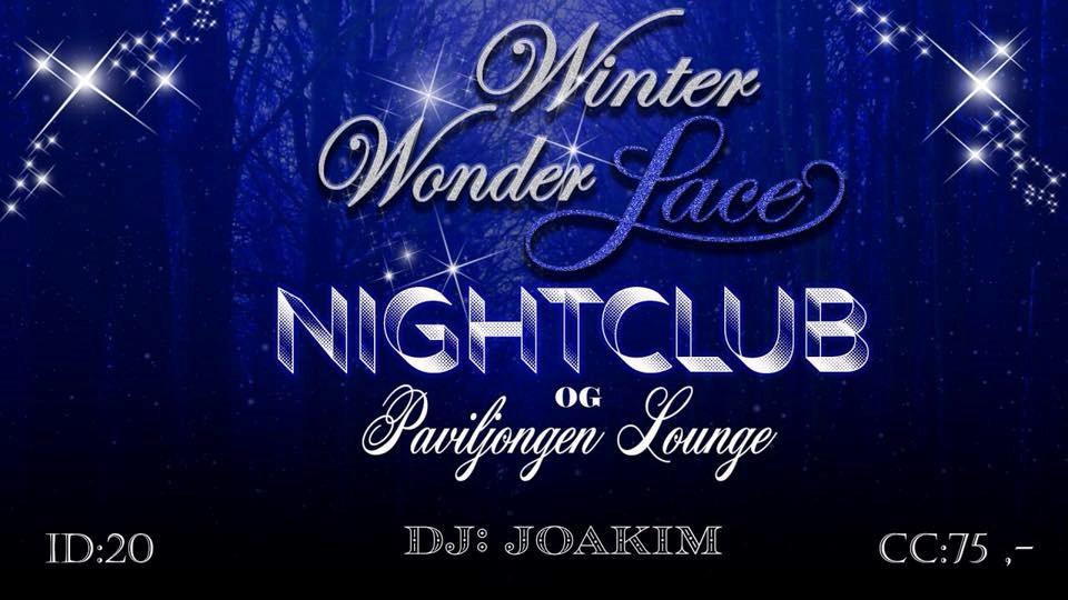 Winter WonderLace Lørdag 8. des m/DJ Joakim