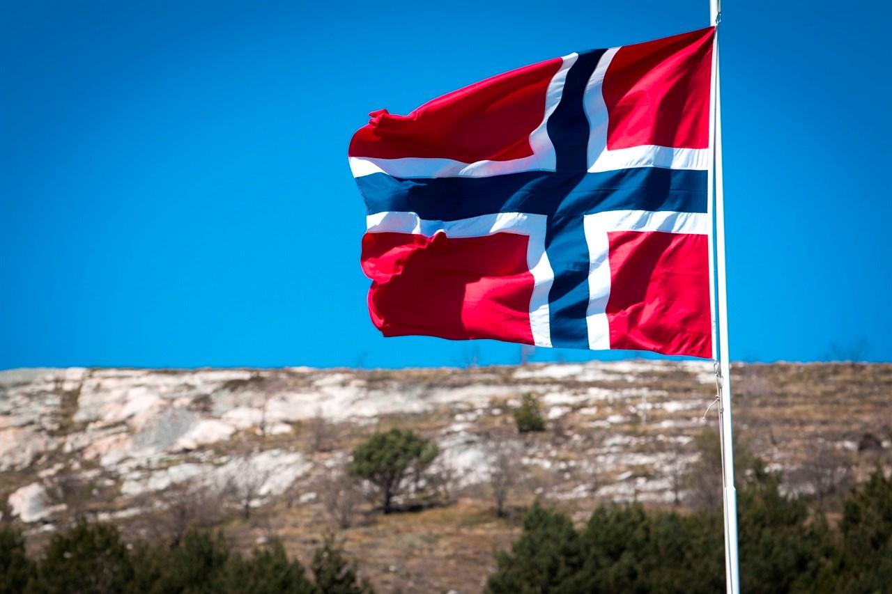 Det er mange flaggdager i mai. Foto: Colourbox